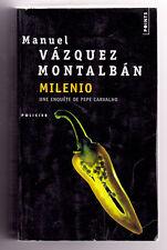 MILENIO  Manuel Vázquez MONTALBAN