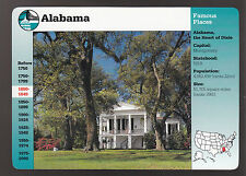 Oakleigh Historic Complex, Mobile Alabama 1995 GROLIER STORY OF AMERICA CARD