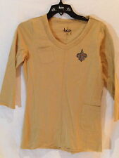 New Orleans Saints Alyssa Milano Touch Collection Fashion Shirt-XSmall-NWT