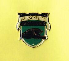Jacksonville Jaguars Football Shield Logo NFL Lapel Hat Pin