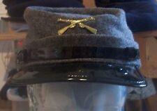 NWT New York Hat Co. Mens Civil War Cap Grey / Black