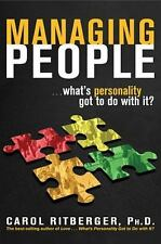 Managing People...What's Personality Got to Do with It? (Paperback or Softback)