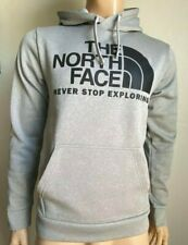NEW The North Face Surgent Pullover Hoodie Men's size M $55 Gray/Black