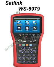 SATLINK WS-6979 DVB-S2&DVB-T2 MPEG4 HD COMBO + Spectrum Satellite Meter Finder