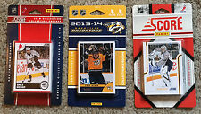 Nashville Predators 3 sealed Score factory team sets - 2010-11, 2011-12, 2013-14