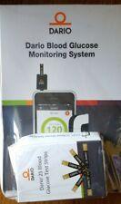 DARIO Blood Glucose Monitoring System iPhone (Meter, 25 Test Strips & Lancets)