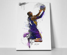 Kobe Bryant Layup Poster or Canvas