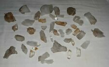 Assorted Natural Crystal Quartz Assorted Sizes And Shapes 40 Pieces