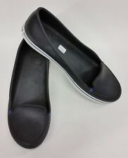Crocs Shoes Slip-On Flats Blue Womens Size 10