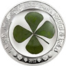 2012 Palau $5, 1oz Silver Coin - 'Ounce of Luck' Series,  4-LEAF CLOVER with COA
