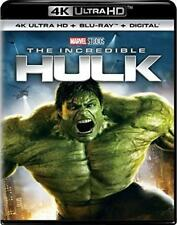 The Incredible Hulk (4K UHD, Blu-ray, Digital HD, Slipcover (See details) New