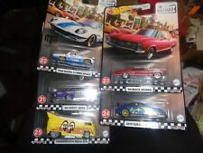 New ListingHot Wheels - Boulevard - #24 - Volkswagen Drag Bus Moon Eyes w/4 other cars set