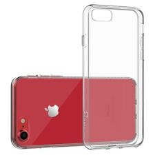 For Apple iPhone 7 8 Plus Case Silicone Clear Cover Bumper Rubber Protective TPU