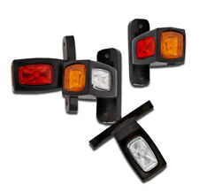 4 X 12v 24v LED Front Side Rear Marker Clearance Lights Truck Lorry Pickup Bus