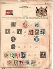 Austria stamp collection 637 Mint & Used collection on album pages (mb18