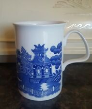 Old Willow Fine Bone China Coffee Mug by Roy Kirkham England