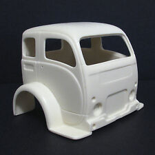 Jimmy Flintstone '50's White Truck Cab-Over Resin Body #312