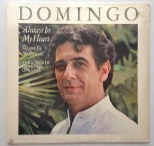 Placido Domingo  Always In My Heart The Songs Of Ernesto Lecuona 1984 Lp SEALED