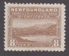 Newfoundland 1910 #93 View of Mosquito F/VF MH