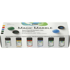 Kreul - Magic Marble - Basic Colours Paint Set