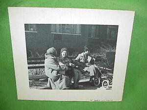 "1971 Art Photo 7""x9"" Black & White Mounted Photograph Bundled Brooklyn Babuskas"