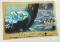 Eevee &Friends Pokemon Center Not for sale Clear Card Rare #2/7 Japanese F/S