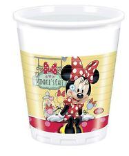 BICCHIERI PVC MINNIE CAFE'  pz 8 Party Festa Compleanno Disney Mickey 82672