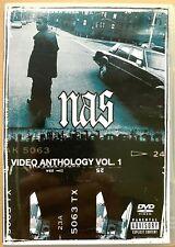 Nas - Vídeo Antología DVD Vol. 1 Rap/ Hip Salto Música Vídeo Compilation