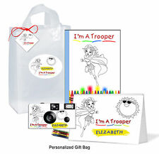 Personalized - Trooper Gift Bag for Girl-Get Well-brave child, Disposable Camera