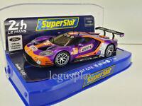 Slot Car Scalextric Superslot H4078 Ford GT GTE 2019 24H Le Mans