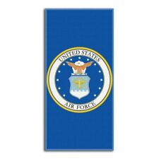 United States Air Force 28x58 Fiber Reactive Cotton Beach Towel