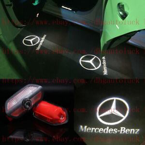 2PC LED PROJECTOR CAR DOOR LIGHT LOGO FOR MERCEDES BENZ NEW S-CLASS 2014-2020