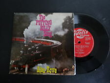 RARE THE PUFFING BILLY SONG ALAN ROWE SINGLE RECORD SIGNED VICTORIA RAILWAYS