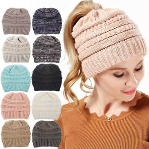 Hat Winter Unisex Warm Lined Baggy Skull Cap Ski Snowboard Thermal Beanie Hats