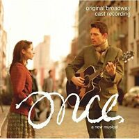 ONCE A New Musical Original Broadway Cast Recording CD BRAND NEW