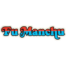 Fu Manchu - Die Cut Logo Sticker