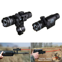 Red/Green Dot Laser Sight Hunting Scope Mount Rechargeable Battery