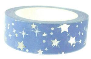 Gift Packaging Tape Present Birthday Wrap Washi Sticky Tape Craft Wrap DIY UK
