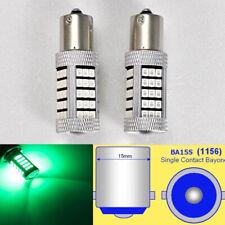 1156 P21W 3497 7506 63 LED Projector Green Bulb Brake Light B1 #12 For Acura
