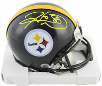 Steelers Hines Ward Authentic Signed Mini Helmet Autographed BAS Witnessed
