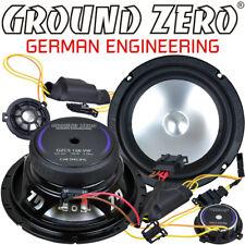 Ground Zero GZCS 165VW 16,5cm 2 Wege Compo Lautsprecher Set für VW Polo V 6R