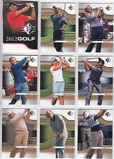 2012 SP Golf 50 Card Basic Set Tiger Woods - Jack Nicklaus - Arnold Palmer