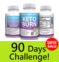 Keto BURN Diet Pills 1200 MG Ketosis Weight Loss Supplements