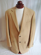 BROOKS BROTHERS 100% Camel Hair, 2 Button Front Blazer in Tan, Mens sz 42 L