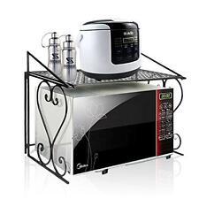 Four micro-ondes étagère étagère de rangement Comptoir de cuisine armoire Organisateur Unité étagères