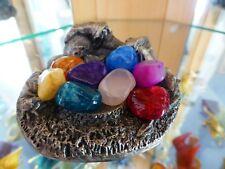 Myth & Magic 4303 - The Sleeping Wizard - V RARE Tudor Mint Crystal Keepers BOX!