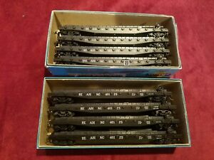 HO Scale Athearn 50' Reading piggyback trailer flat cars. Lot 1