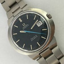 OMEGA DYNAMIC BLUE DIAL  AUTOMATIC MENS RARE TO FIND IN THIS CONDITION