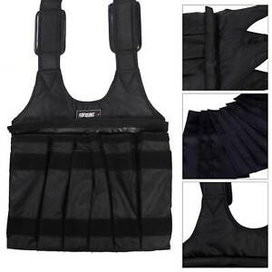 50kg Max Loading Adjustable Weighted Vest Fitness Training Exercise Waistcoat