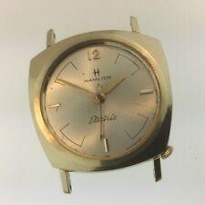 "Original VINTAGE 1960s HAMILTON ""TAURUS"" 10k GOLD-FILLED ELECTRIC WATCH 4 REPAIR"